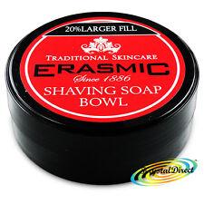 Erasmic Facial Skin Care Face Lather Shaving Soap Cream Bowl 90g
