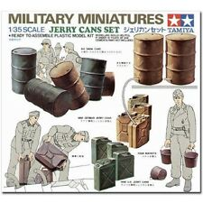 Tamiya 1 35 Jerry cans (importo Japponese)