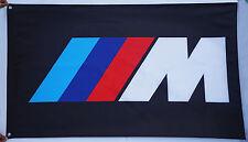 Black BMW M flag-BMW IIIM banner flags 3'X5' BMW M Car flags black