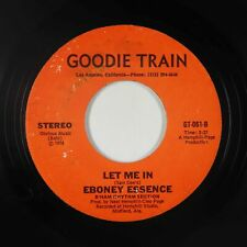 New ListingCrossover Soul 45 - Eboney Essence - Let Me In - Goodie Train - Vg+ mp3