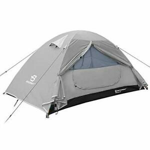 Bessport Backpacking Tent 1-2 Person Ultralight Camping Tent Waterproof Two Door