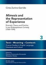 MIMESIS AND THE REPRESENTATION OF EXPERIENCE - NEW HARDCOVER BOOK