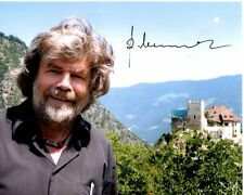 Reinhold Messner signed autographed photo