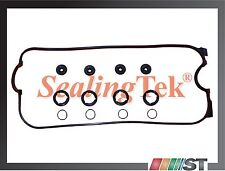 Fit Honda 2.2L F22A F22B SOHC Engine Valve Cover Gasket Set w/ grommets o-rings