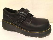 Dr Martens 3A78 Monk Strap BLACK Leather Oxfords Shoes Mens 7  Womans 8 UK SZ 6