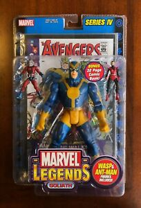 ToyBiz Marvel Legends - Goliath w/Antman & Wasp (Series VII)