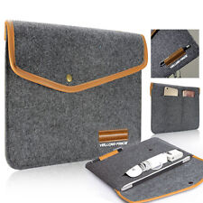 Premium Wool Felt Sleeve Carrying Case pouch bag for 12inch New MacBook Air 11.6