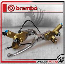 Pompa freno 16 PSC16 + Pompa Frizione 13 PSC13 assiale Brembo serie oro