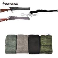 "4Pcs 54"" Shotgun/Rifle Sock Gun Sleeve Silicone Treate Moistureproof Cover case"