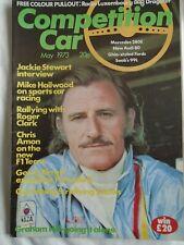 Competition Car magazine May 1973 Mike Hailwood, Jackie Stewart