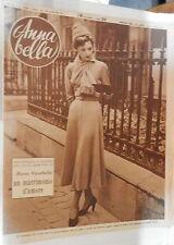 ANNA BELLA 1949 Vestito di Robert Piguet Jim Kjelgaard Quadri e cravatte Lupi di