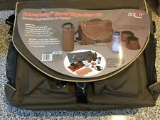 Solvit Homeaway Travel Brown Organizer Kit for Dogs with Food/Water Bowls