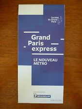 CARTE MICHELIN GRAND PARIS EXPRESS