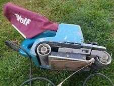 Wolf 5573 4 Inch Belt Sander Makita Used