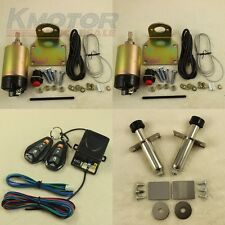 Easy Install - Door Popper Kit For 2 Remotes - 80 lbs Popper System With 2 Door