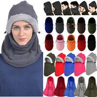 Thermal Balaclava Full Face Ski Mask Motorcycle Hat Cap Fleece Warm Mens Unisex