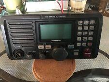 Icom IC-M602 VHF Marine Radio Transceiver With Mountable Stand MadeInJapan