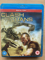 Clash Of The Titans 2010 Fantasy Film Remake UK Blu-ray