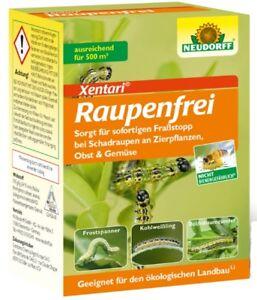 Neudorff Raupenfrei XenTari Packung 25 g gegen Buchsbaumzünsler Raupen