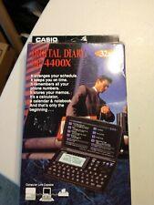 CASIO Digital Diary Black 32kb sf-4400x New In Box
