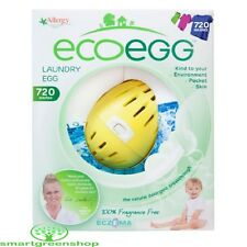 EcoEgg Laundry Egg 720 lavaggi fragranza Free eco-friendly e Ipoallergenico