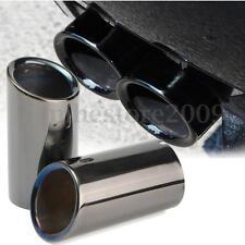 Tail Exhaust Tip Pipes Titanium Black For BMW E90 E92 325i 328i 3 Series 06-10