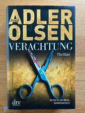 Verachtung - Jussi Adler Olsen - gebundene Ausgabe (2012) - guter Zustand