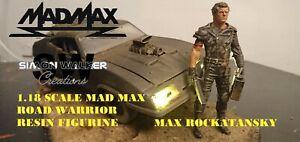 1/18 resin model MAD MAX Mel Gibson Road Warrior custom made figure