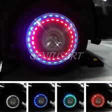 13 Modi Ruota Pneumatico Luce Mini Lampada LED Solare Auto Flash Illuminazione
