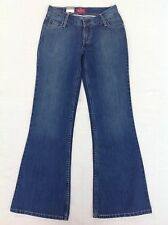 Size 7 Bootleg Vintage Retro Levis  Jeans NWT  Womens Urbano Flare Runaway Wash