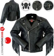 Blousons noirs en doublure pour motocyclette