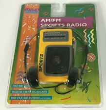 Street Beat AM/FM Walkman Sports Radio PR-34 Collectors Item In Original Package