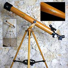 Galileo G-860WG - 800mm x 60mm Wood Grain Finish Astro Terrestrial Telescope Kit