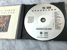 Paul Simon Graceland CD TARGET ERA West Germany FULL SILVER DISC Warner 9 254472