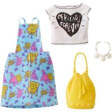 Barbie Spongebob Squarepants Fashion Pack with 4-Themed Pieces