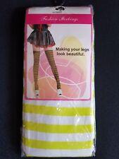 Ladies Striped Tights Fancy Dress
