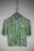 ICEBERG JEANS VINTAGE Maglia Maniche Corte Polo Shirt  Maglia Tg 46 Donna Woman