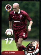 Petr Johana Autogrammkarte AC Sparta Prag 2004-05 + A 213199 OU