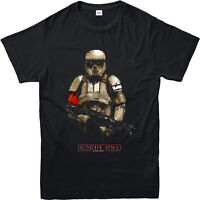 Star Wars T-Shirt Rogue One Shore Trooper Festive Unisex Adult & Kids Tee Top