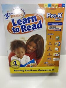 Hooked On Phonics Pre-K Learn to Read Edition Program 3-4 Years