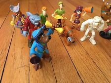 Charter LTD SCOOBY DOO Lot of 15 Action Figures Articulated, 2008 2010 2001