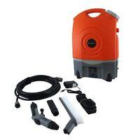 PYLE BATTERY POWERED PORTABLE PRESSURE SPRAY WASHER CLEANER SYSTEM 12V CAR PLUG