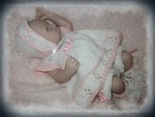 "##PATTERN##Sundress & pants set knitting pattern for 10"" - 12"" REBORN"