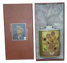 Vincent Van Gogh Diffuser Fragrance Bottle Vase Art 16 oz Sunflowers in Box