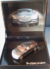 OPEL INSIGNIA CONCEPT CAR 2004 BLEU METAL NOREV 1/43 BLUE METALLIC COFFRET