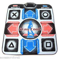 USB RCA Non-Slip Dancing Step Dance Mat Pad for PC TV AV Video Game