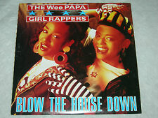 """THE WEE PAPA GIRL RAPPERS Blow The House Down SAMPLE 1988 AUS P/S 7"""" NM"""