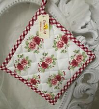 Clayre & Eef Topflappen  Rose Shabby Chic Landhaus Vintage