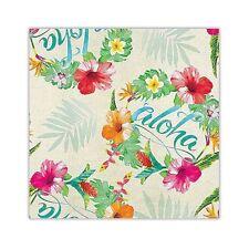 Island Heritage Aloha Floral Hawaiian Tropical Gift Wrap Paper 2 Rolls