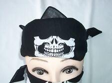 12 pieces Skull Jaw Bone Bandana Head Wrap Paintball Face Mask Scraf Neckerchief